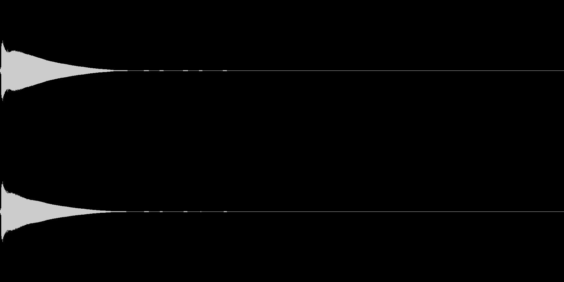 【ひらめき01-1】の未再生の波形