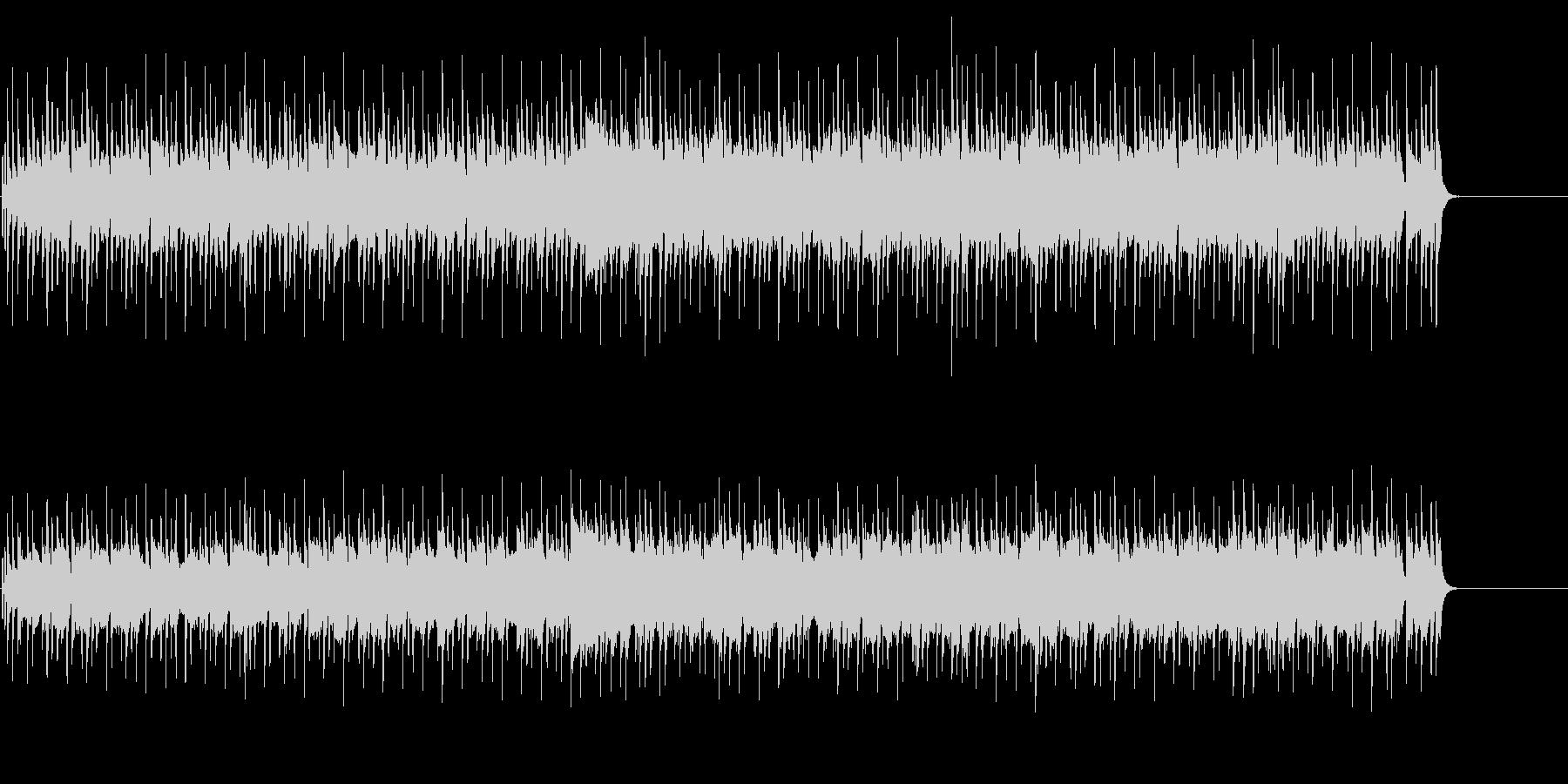 くつろぎのゆったりポップスの未再生の波形