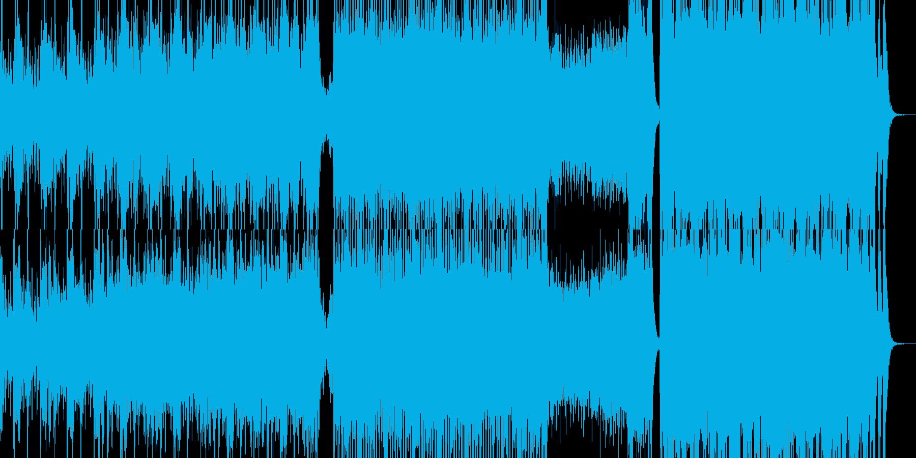 戦闘オーケストラの再生済みの波形