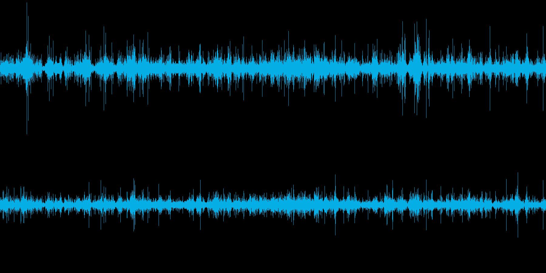 ムードノイズ_「カラカラ…」風2の再生済みの波形