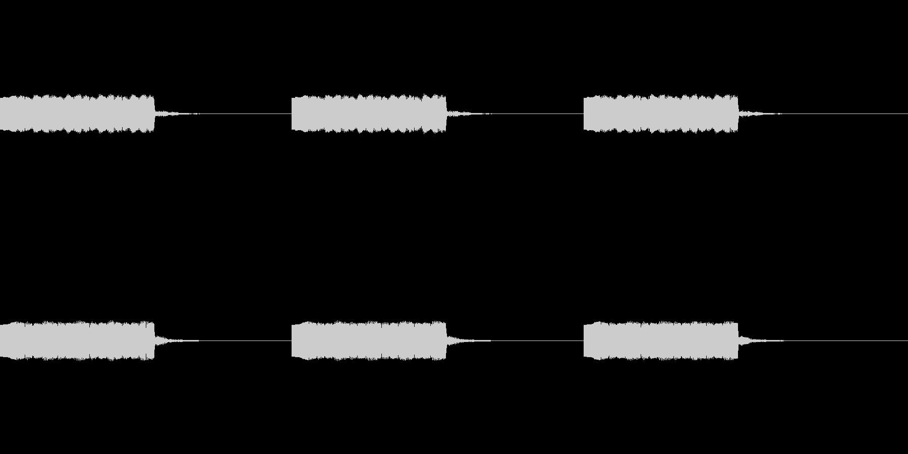 定番着信音、アラーム音の未再生の波形