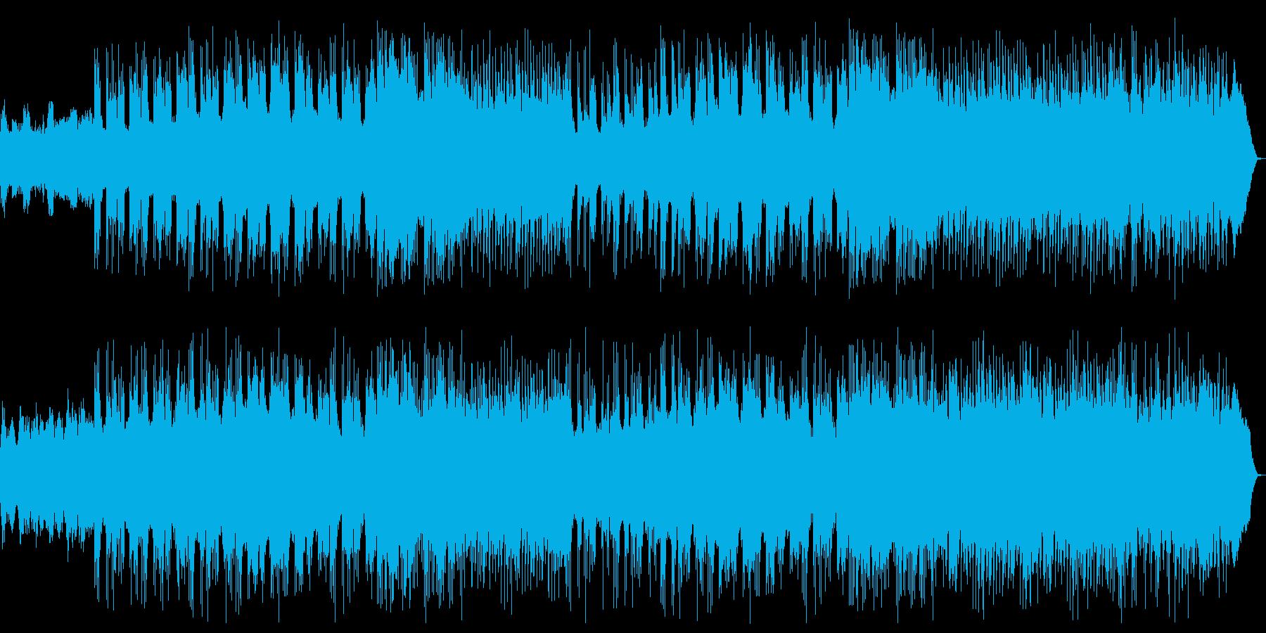 ヘビーメタル ダークな魔族系フィールド曲の再生済みの波形