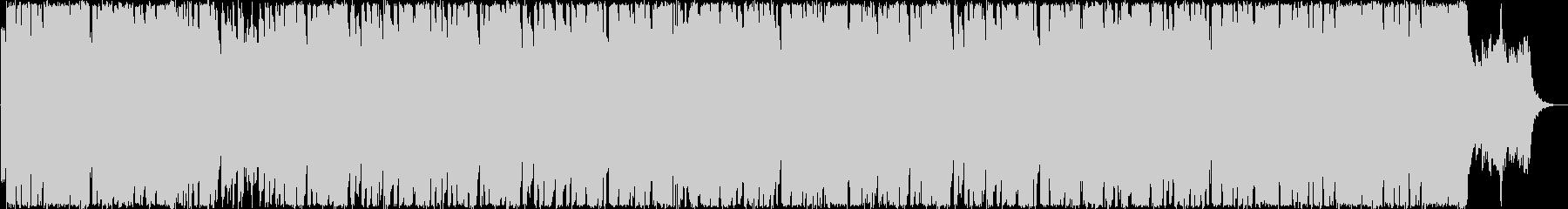 ゆったりしたシンセ・ピアノのサウンドの未再生の波形