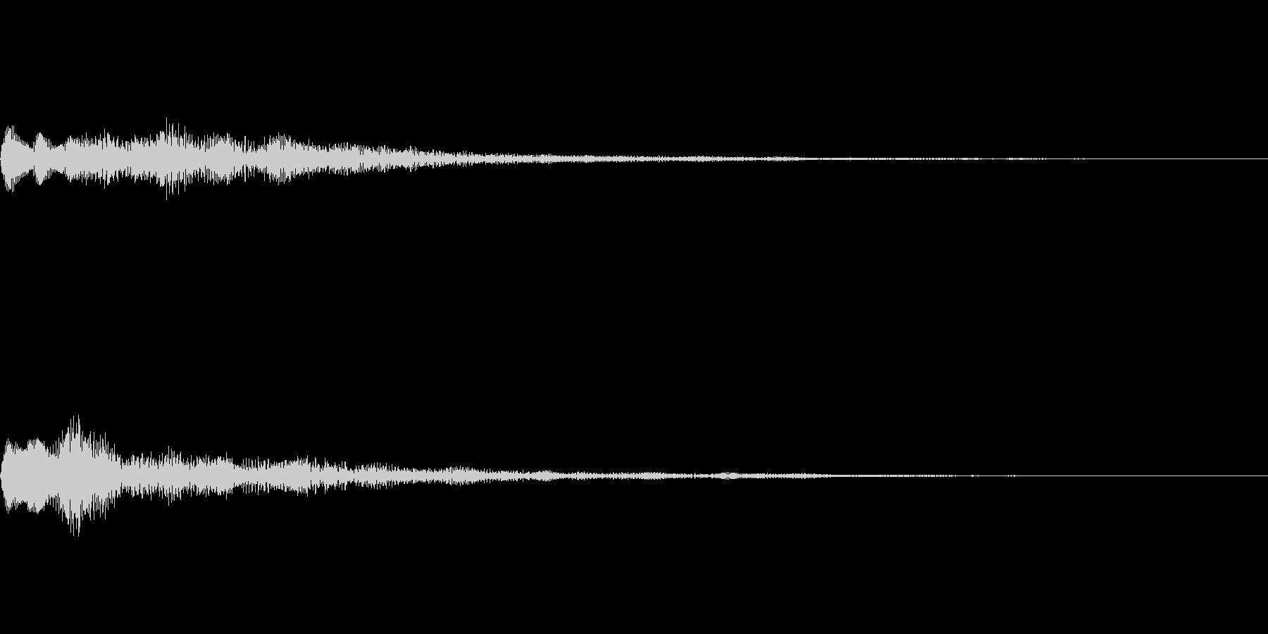 ベル SE02の未再生の波形