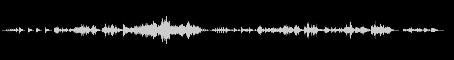 ピアノソロ 静か 感謝の未再生の波形