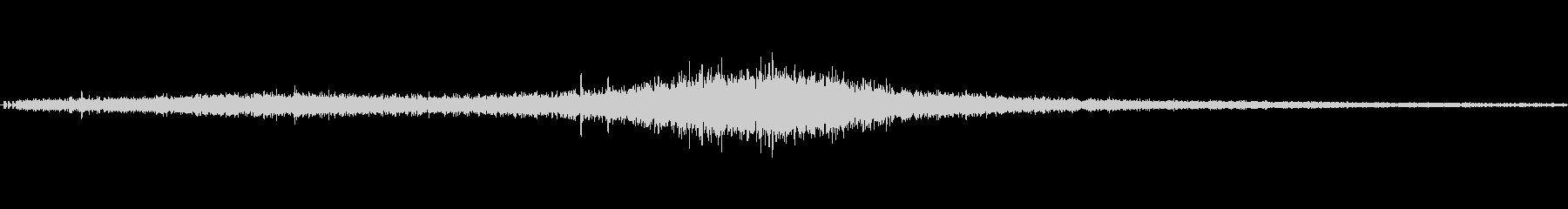 【生音】通行音 - 1 「ぶおーん」の未再生の波形