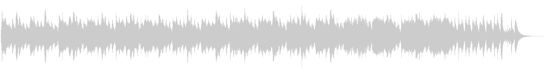 小編成オーケストラのハロウィンBGMの未再生の波形