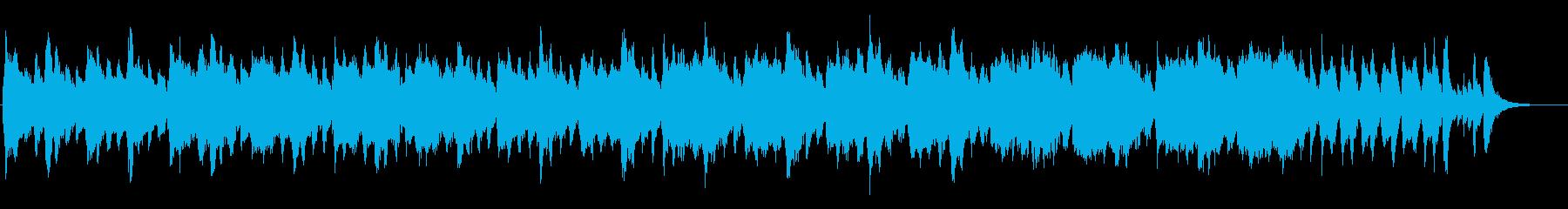 小編成オーケストラのハロウィンBGMの再生済みの波形