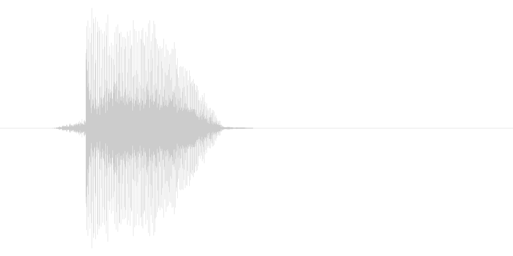 ゲーム(ファミコン風)ジャンプ音_005の未再生の波形