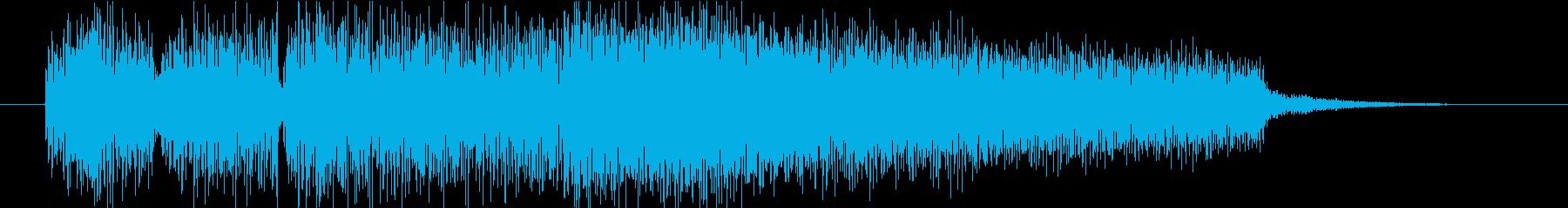 サウンドロゴ(エレキピアノ・しっとり)の再生済みの波形