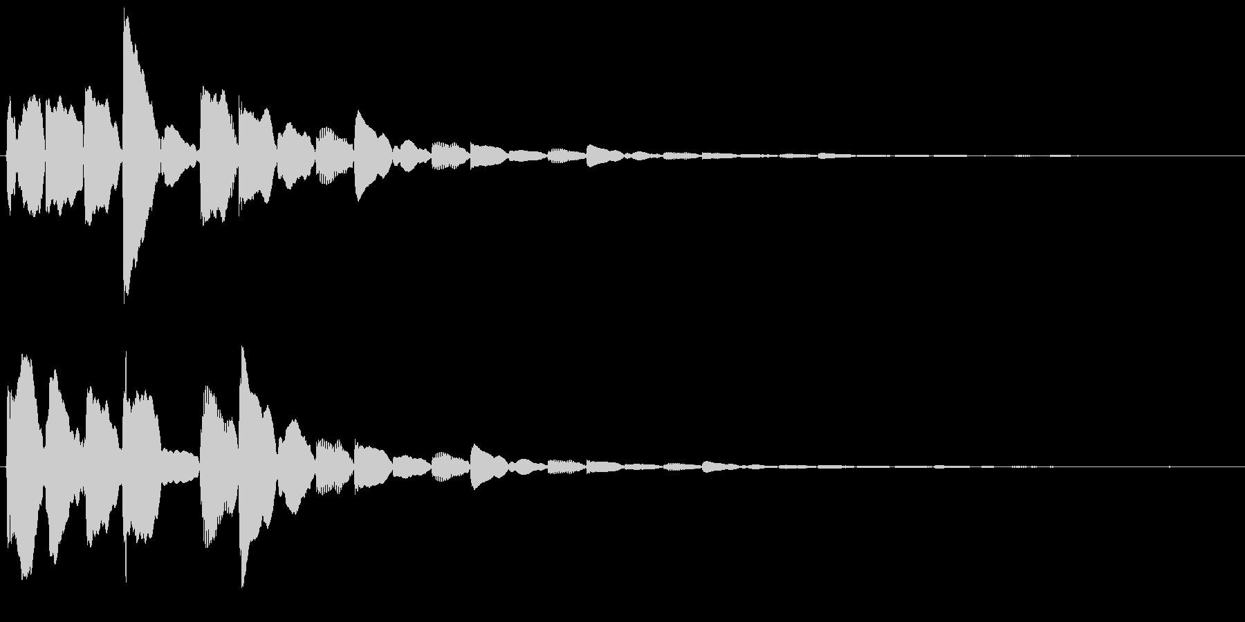 test2の未再生の波形