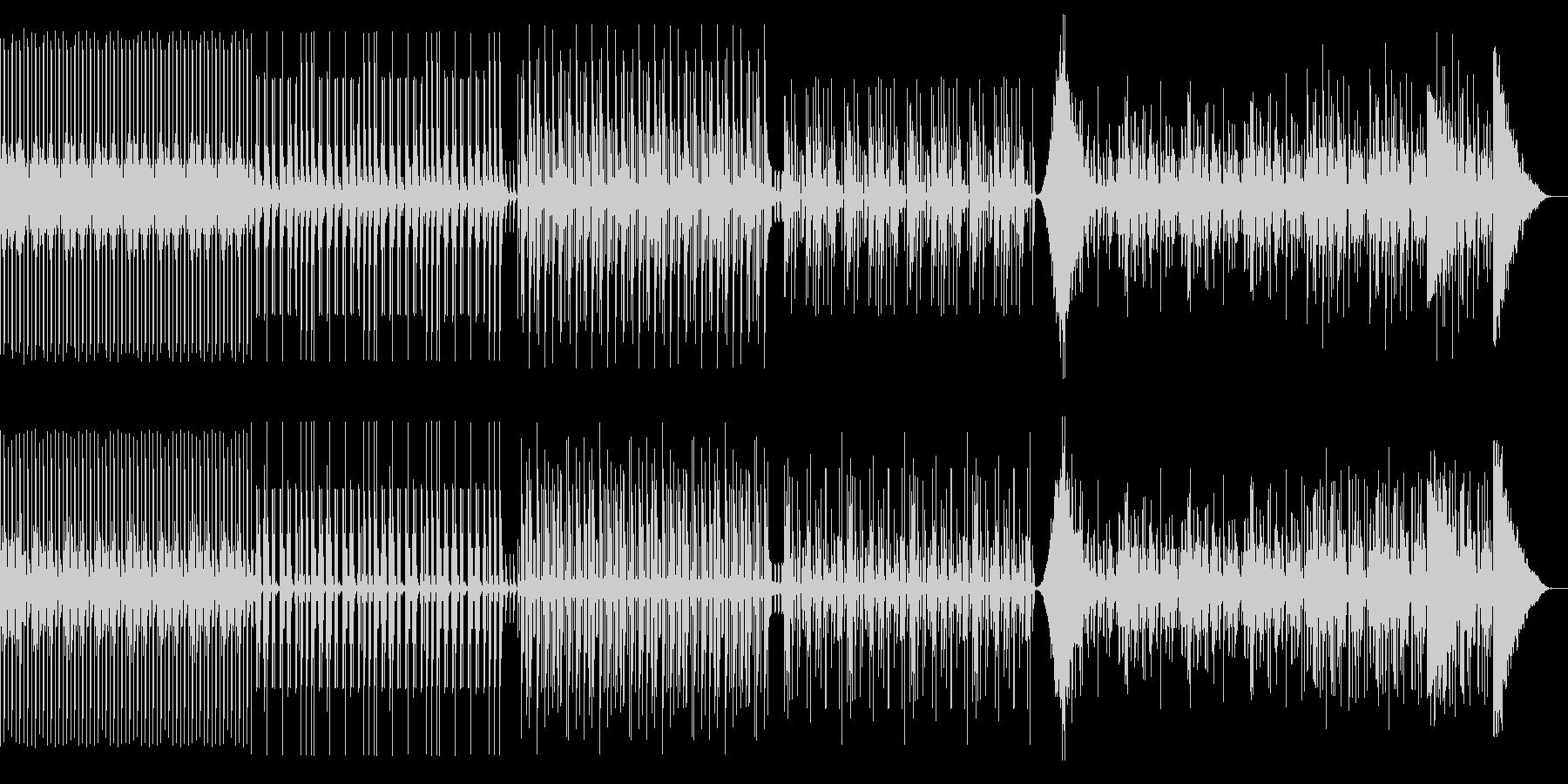 ドラム リズムのみ テクノやアフリカンの未再生の波形