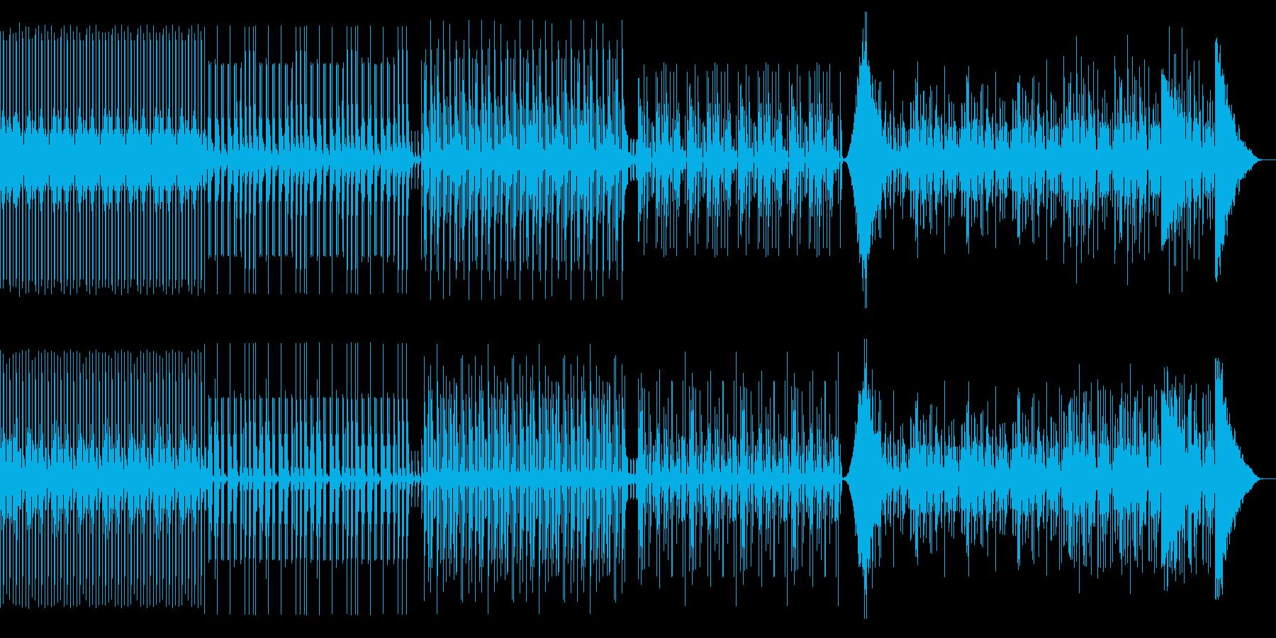 ドラム リズムのみ テクノやアフリカンの再生済みの波形