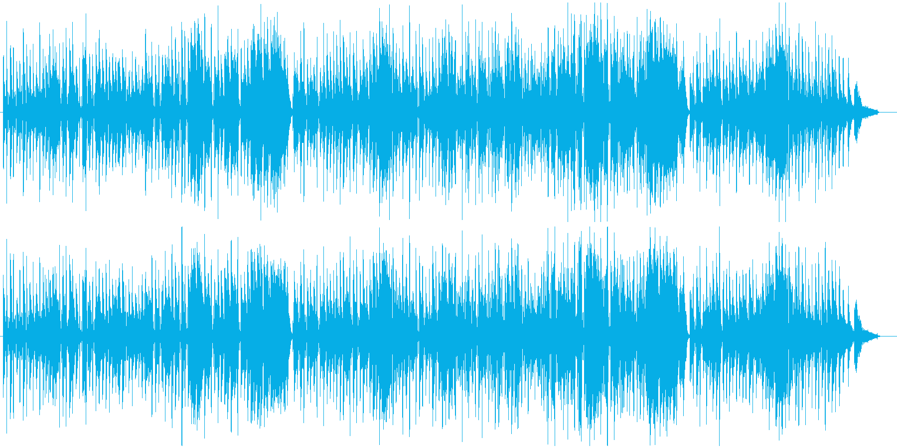 人としての心情をピアノと歌で訴えるの再生済みの波形