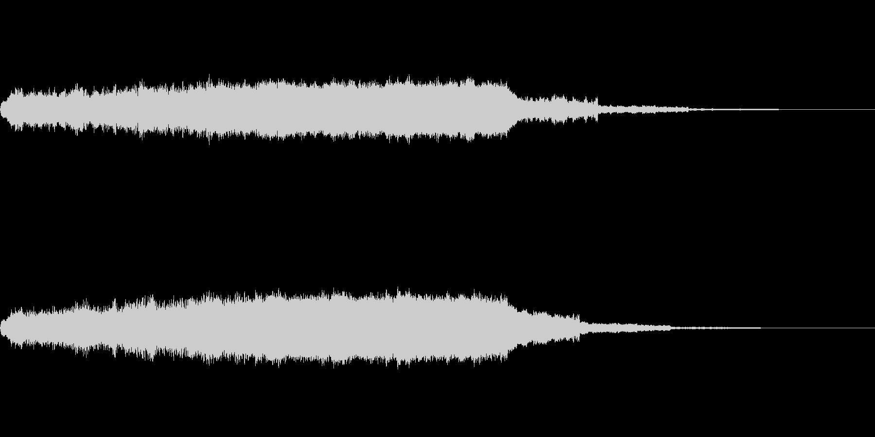 キーン(耳鳴り)の未再生の波形