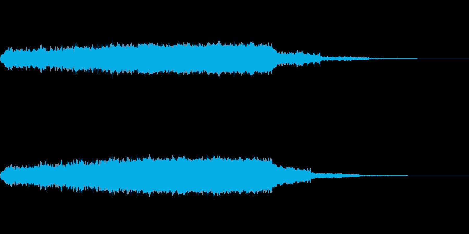 キーン(耳鳴り)の再生済みの波形