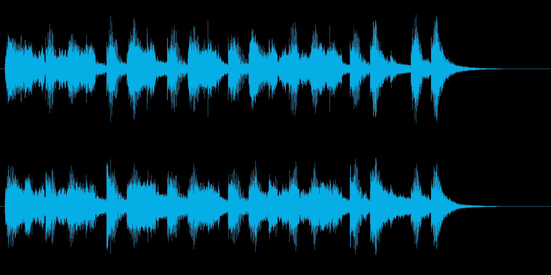 ドリーミーなメリーゴーラウンドワルツ♪の再生済みの波形