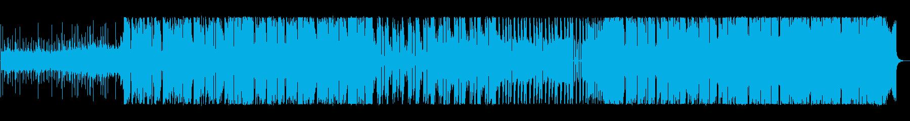低音がかっこいいEDMの再生済みの波形