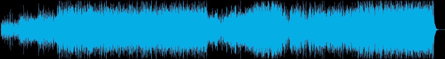 ケルトの再生済みの波形