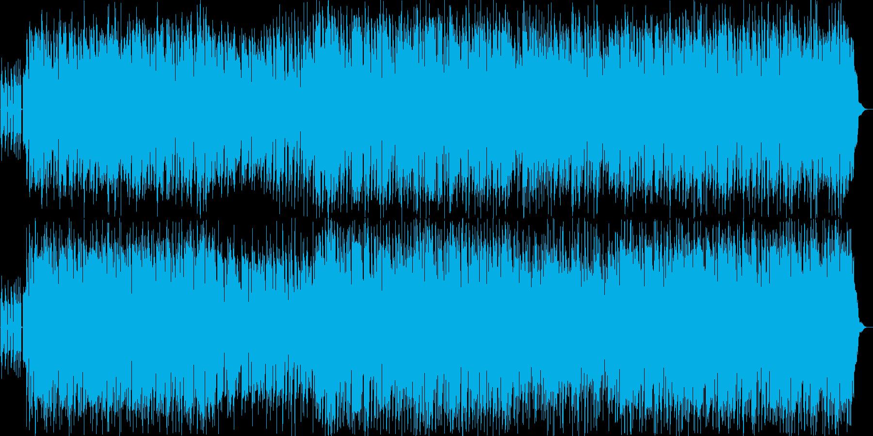 TV等のオープニングを想定したほのぼの…の再生済みの波形
