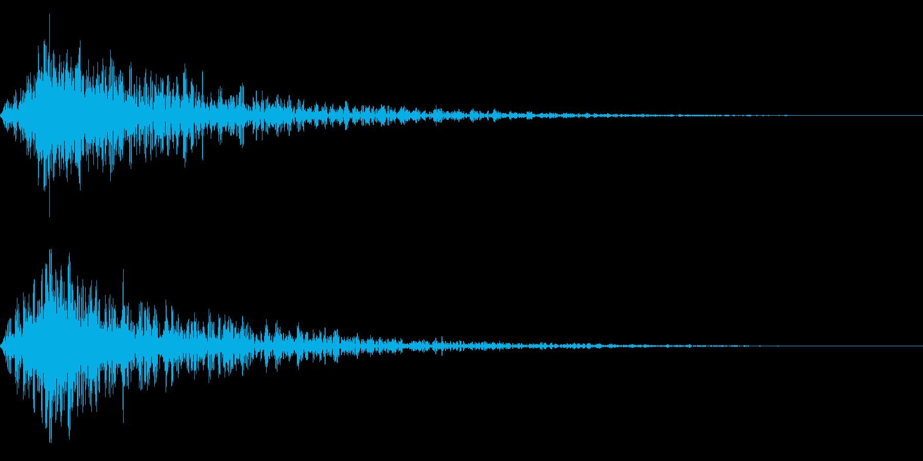 炎攻撃 炎魔法 打撃 火炎属性 01Vの再生済みの波形