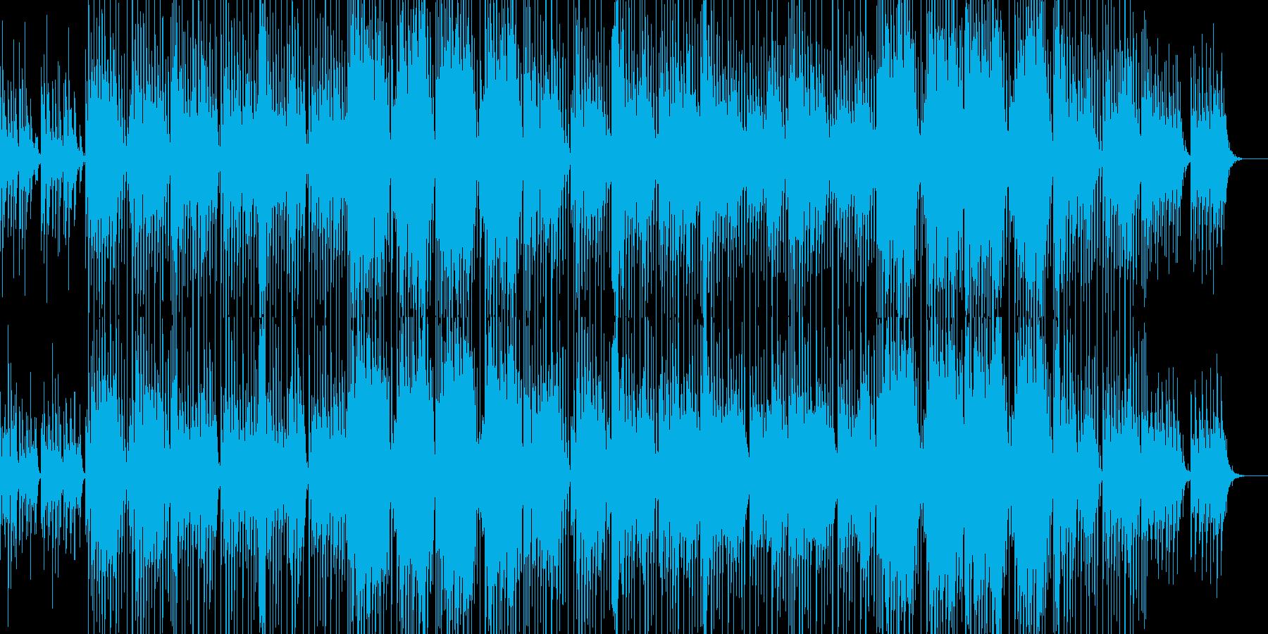 爽やかでカワイイ感じのほのぼのしたBGMの再生済みの波形