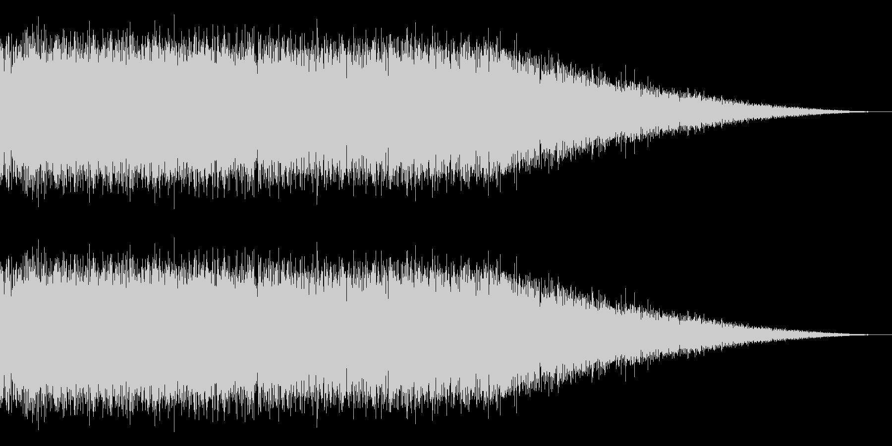 戦車の走行音/キャタピラの効果音! 04の未再生の波形