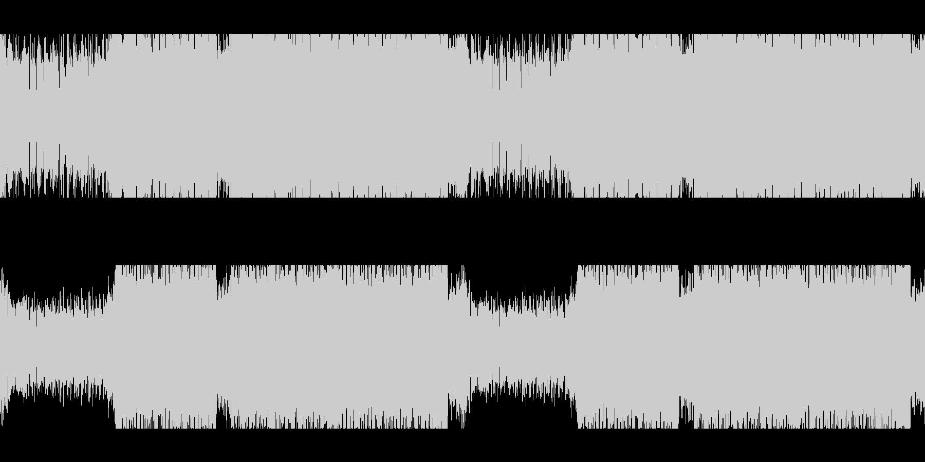 ループ:バトル戦/サイバー/ギターテクノの未再生の波形