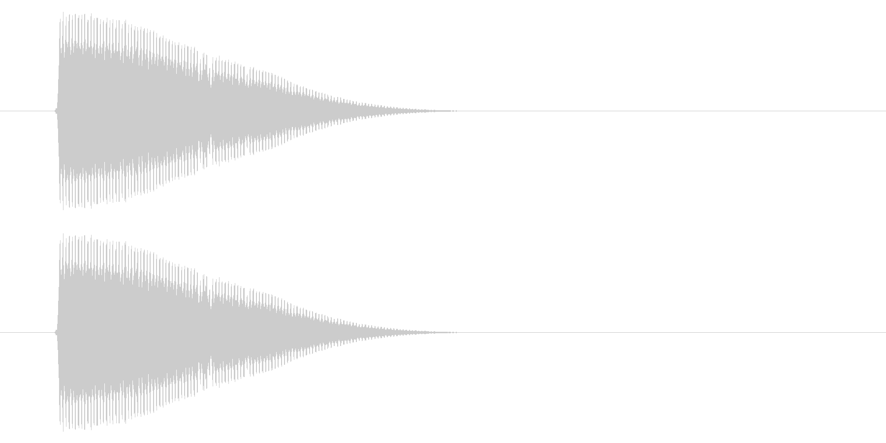 SNES シューティング01-03(発射の未再生の波形