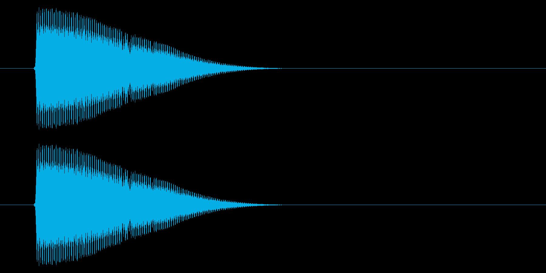 SNES シューティング01-03(発射の再生済みの波形