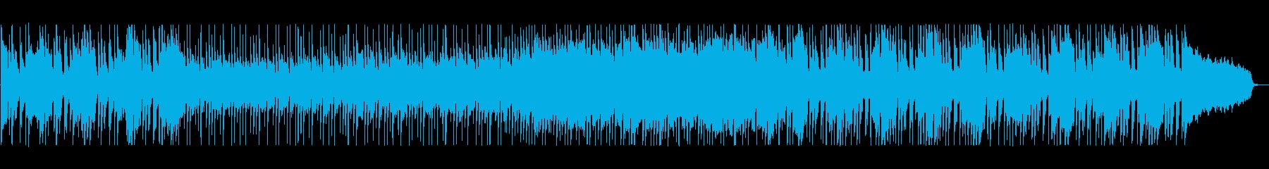 緩やかでリズミカルなシンセポップサウンドの再生済みの波形