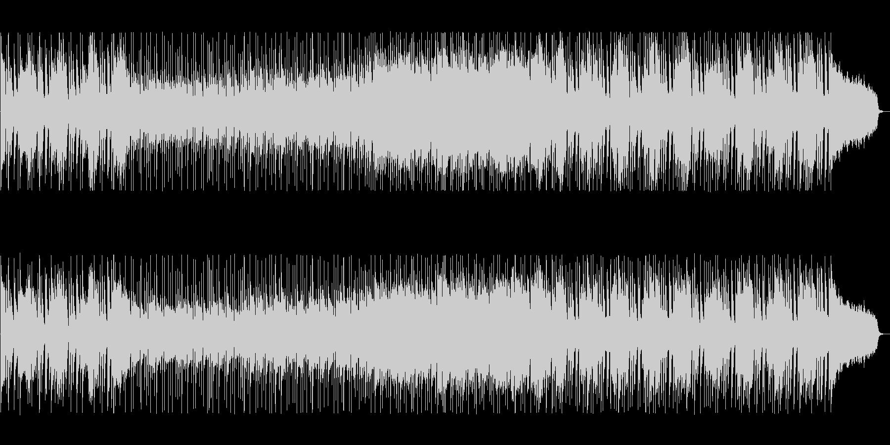 緩やかでリズミカルなシンセポップサウンドの未再生の波形