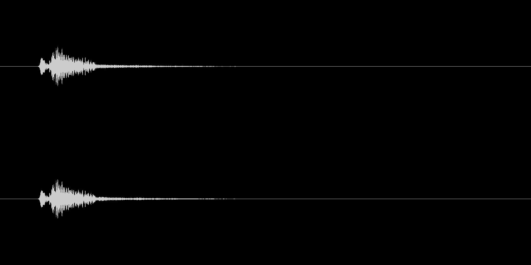 【サイバー16-2】の未再生の波形