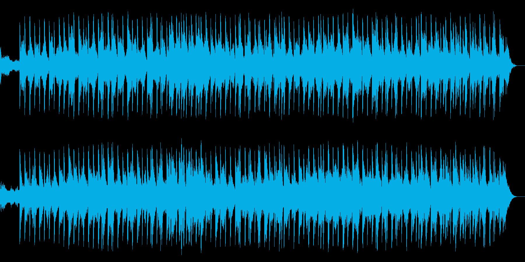 リラックス 催眠 不思議 CM 情報の再生済みの波形