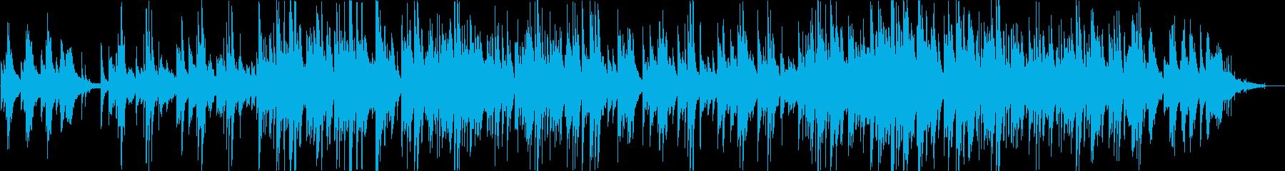 ピアノとギターが印象的なバラードの再生済みの波形