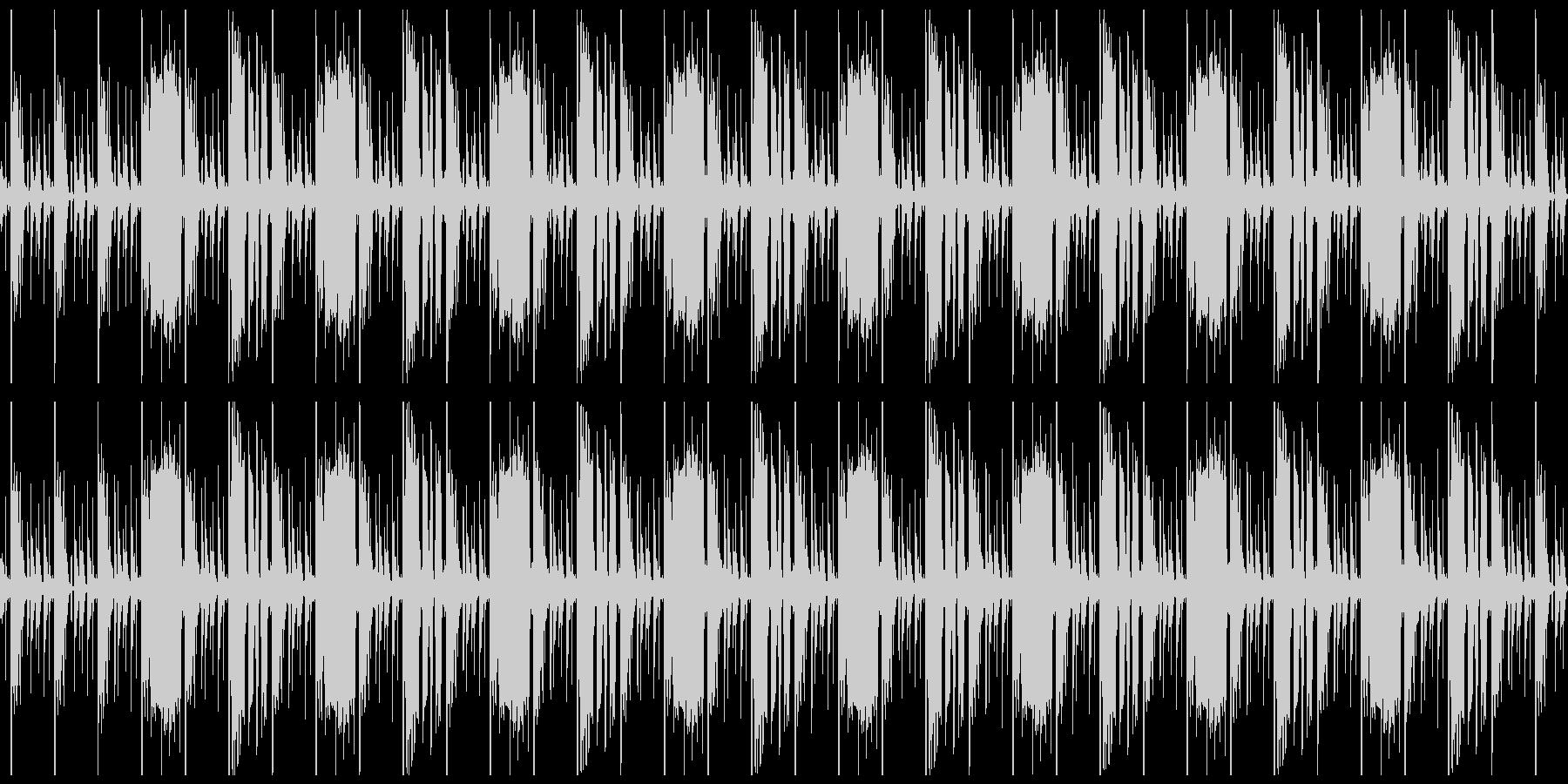 ヒップホップっぽい系のループ の未再生の波形