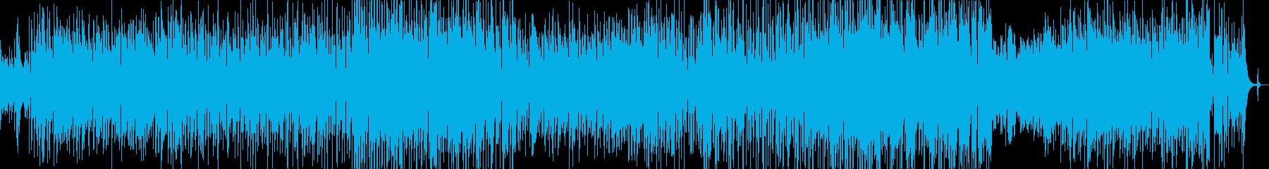 クリスマスシーズンのキラキラなスウィングの再生済みの波形