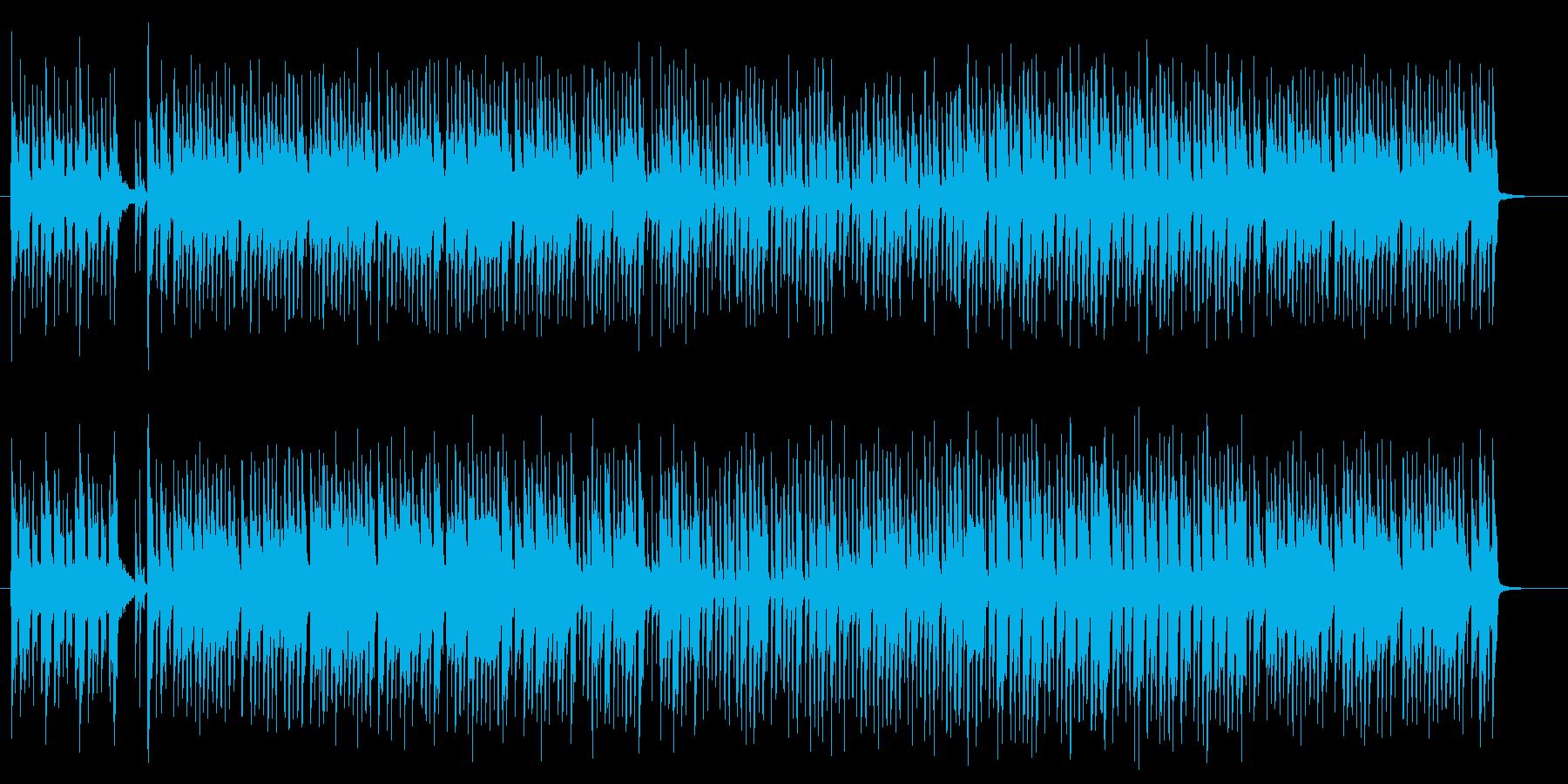 妖艶なエキゾチックサウンドの再生済みの波形
