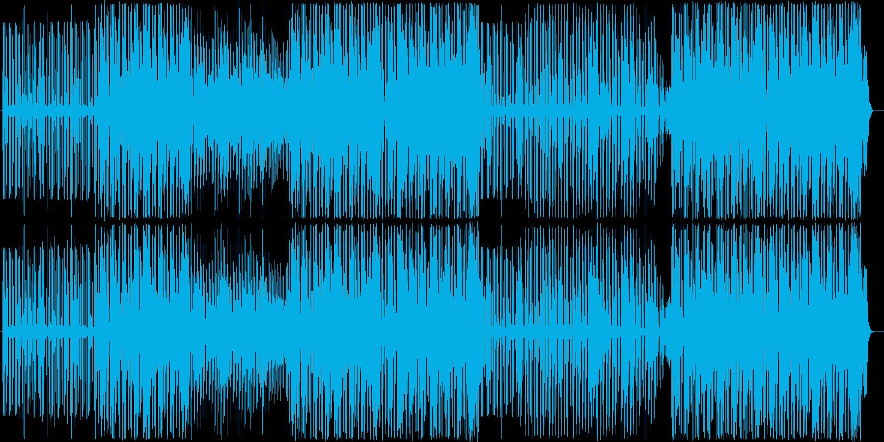 猫×レトロテクノという構成になっていま…の再生済みの波形