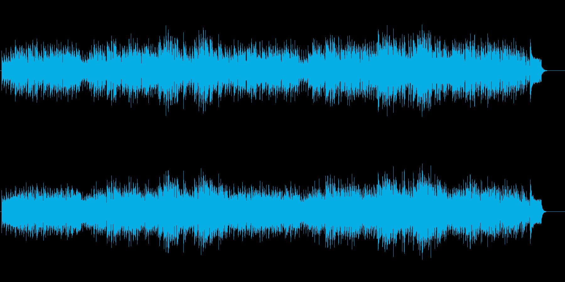 南米アンデス想起のフォルクローレ風の再生済みの波形