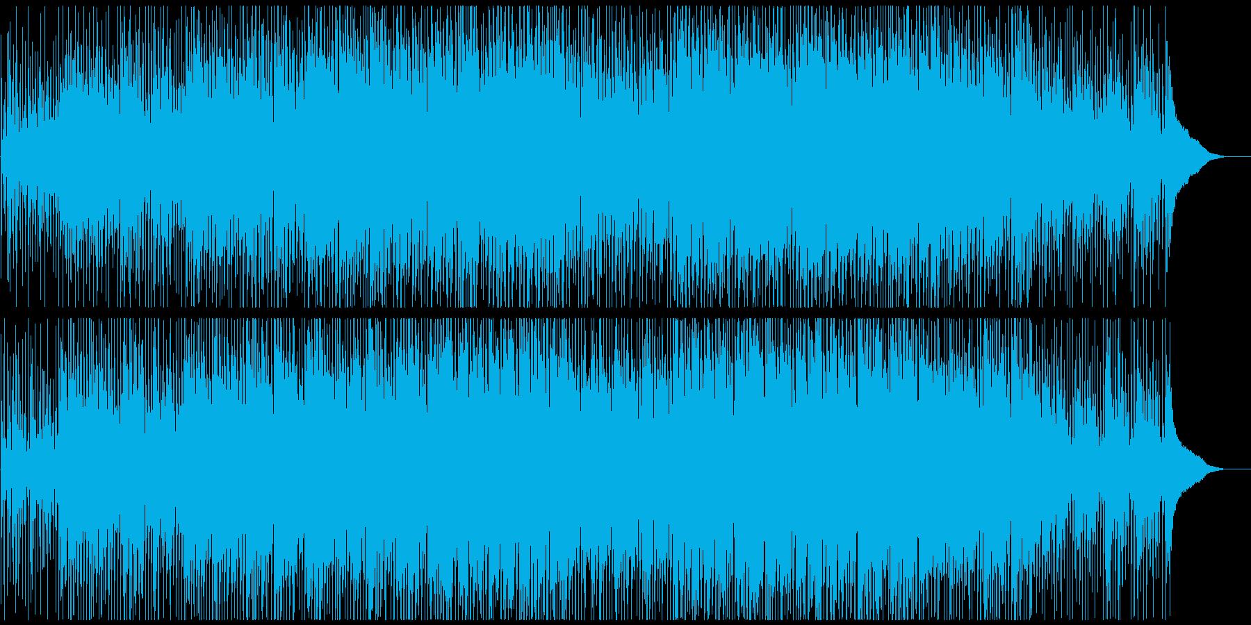 オープニング企業VP映像に ロックテクノの再生済みの波形
