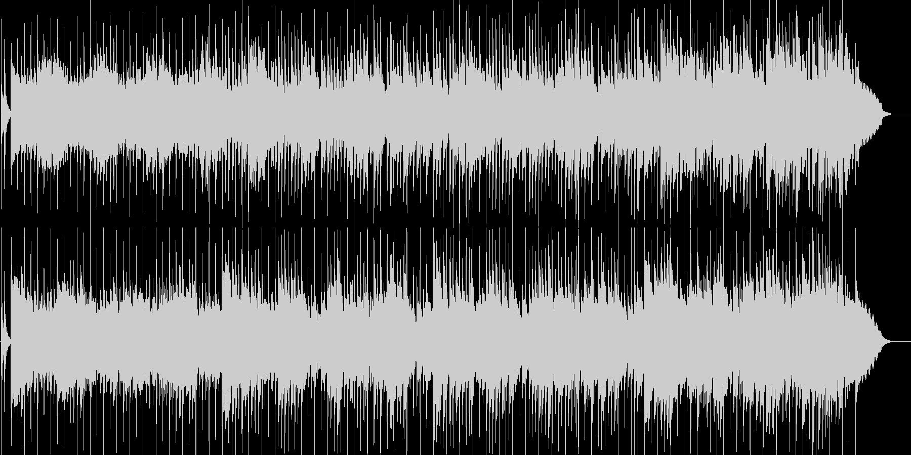 ゆったりとした優しいギターポップの未再生の波形