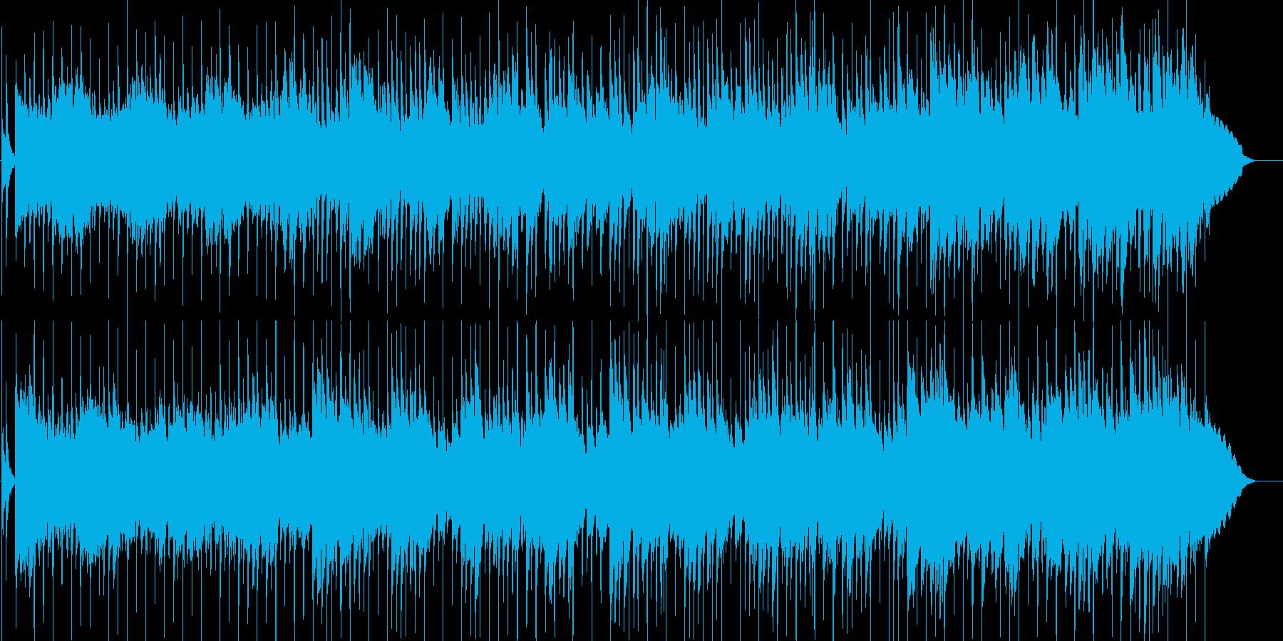 ゆったりとした優しいギターポップの再生済みの波形