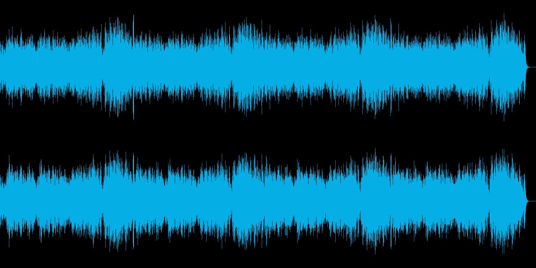 バイオリンとアコギによる「仰げば尊し」の再生済みの波形