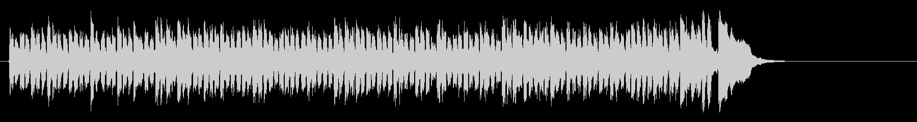 元気なヒューマンポップス(Aメロ)の未再生の波形
