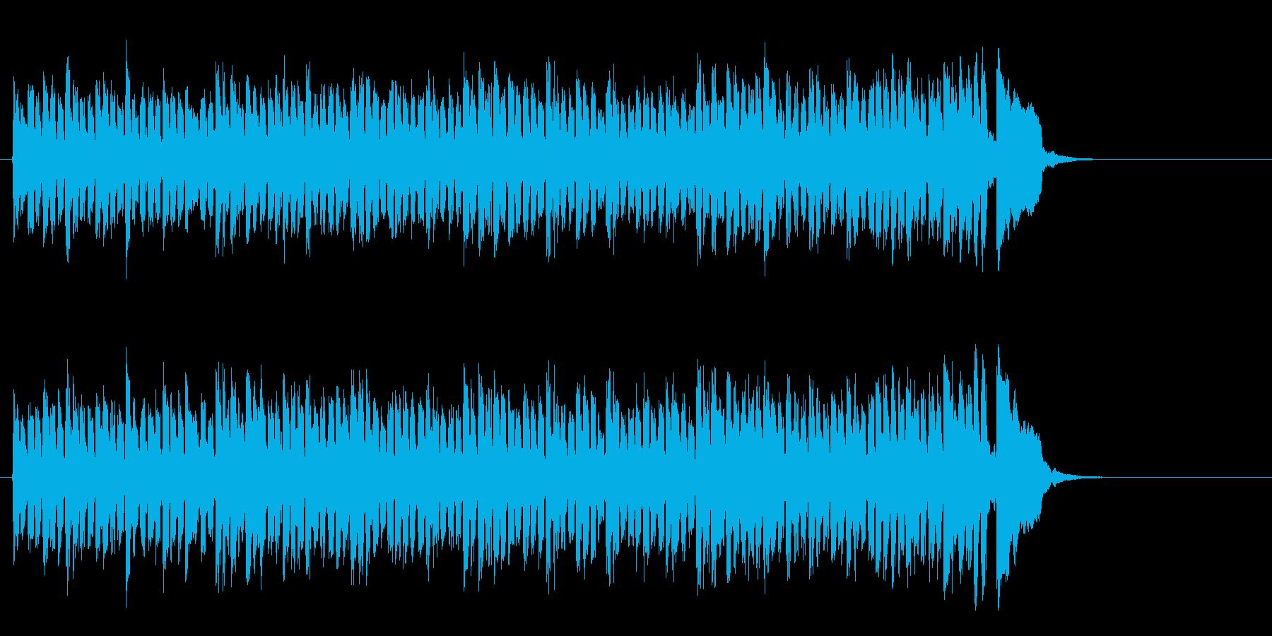 元気なヒューマンポップス(Aメロ)の再生済みの波形