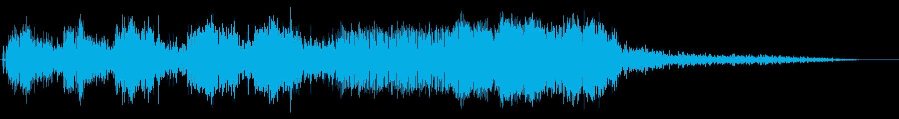 オートバイ/バイクド迫力のアクセル音5!の再生済みの波形