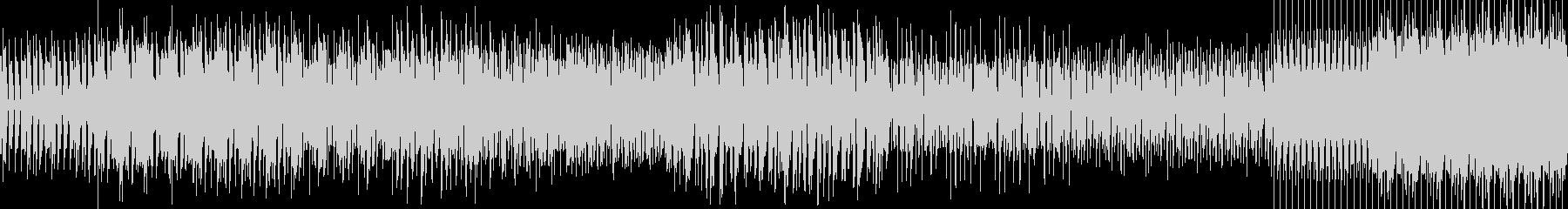 ベースメインのディープハウスの未再生の波形