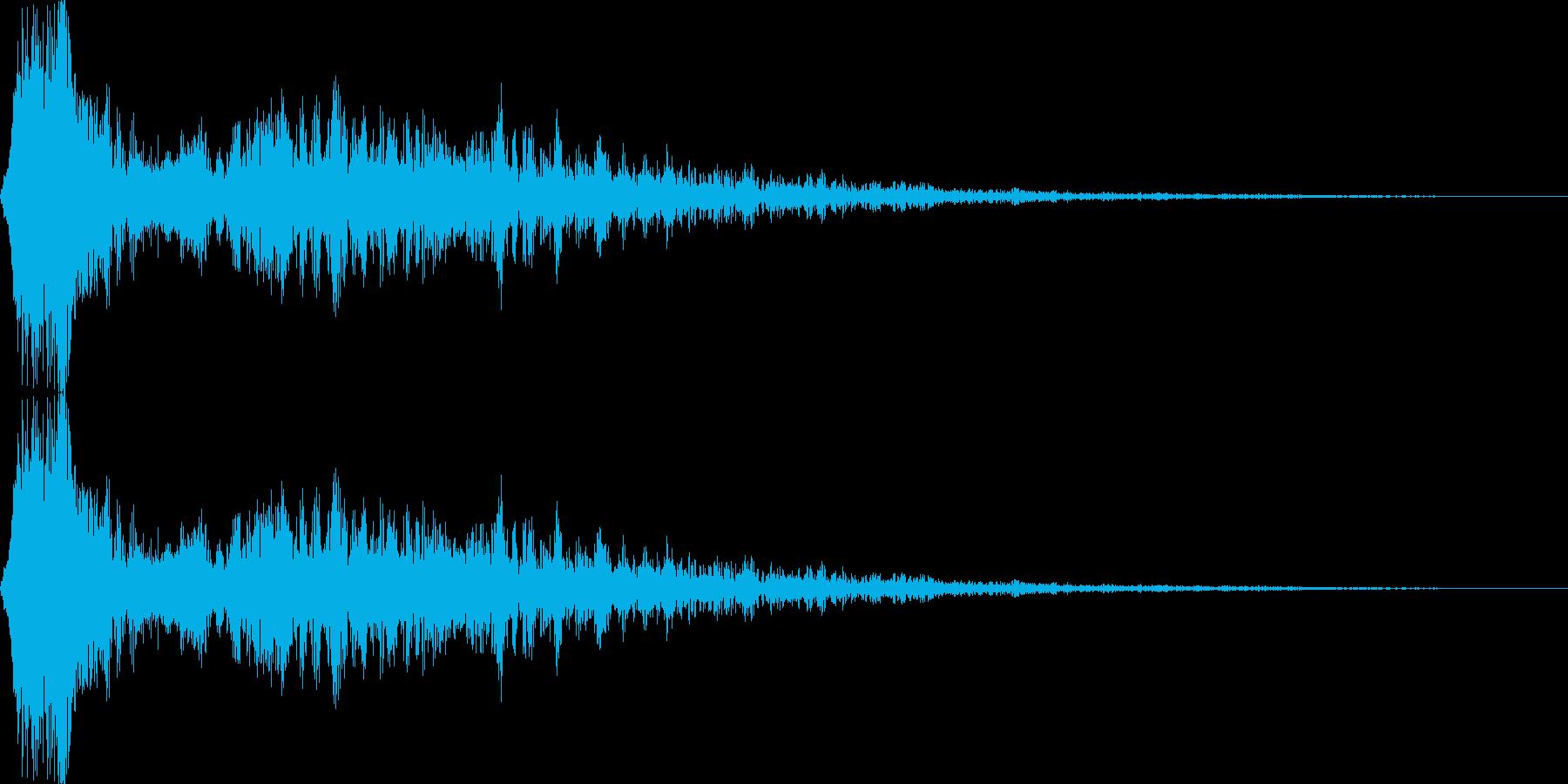 エネルギー弾、炎弾、ジェット(ロング)の再生済みの波形