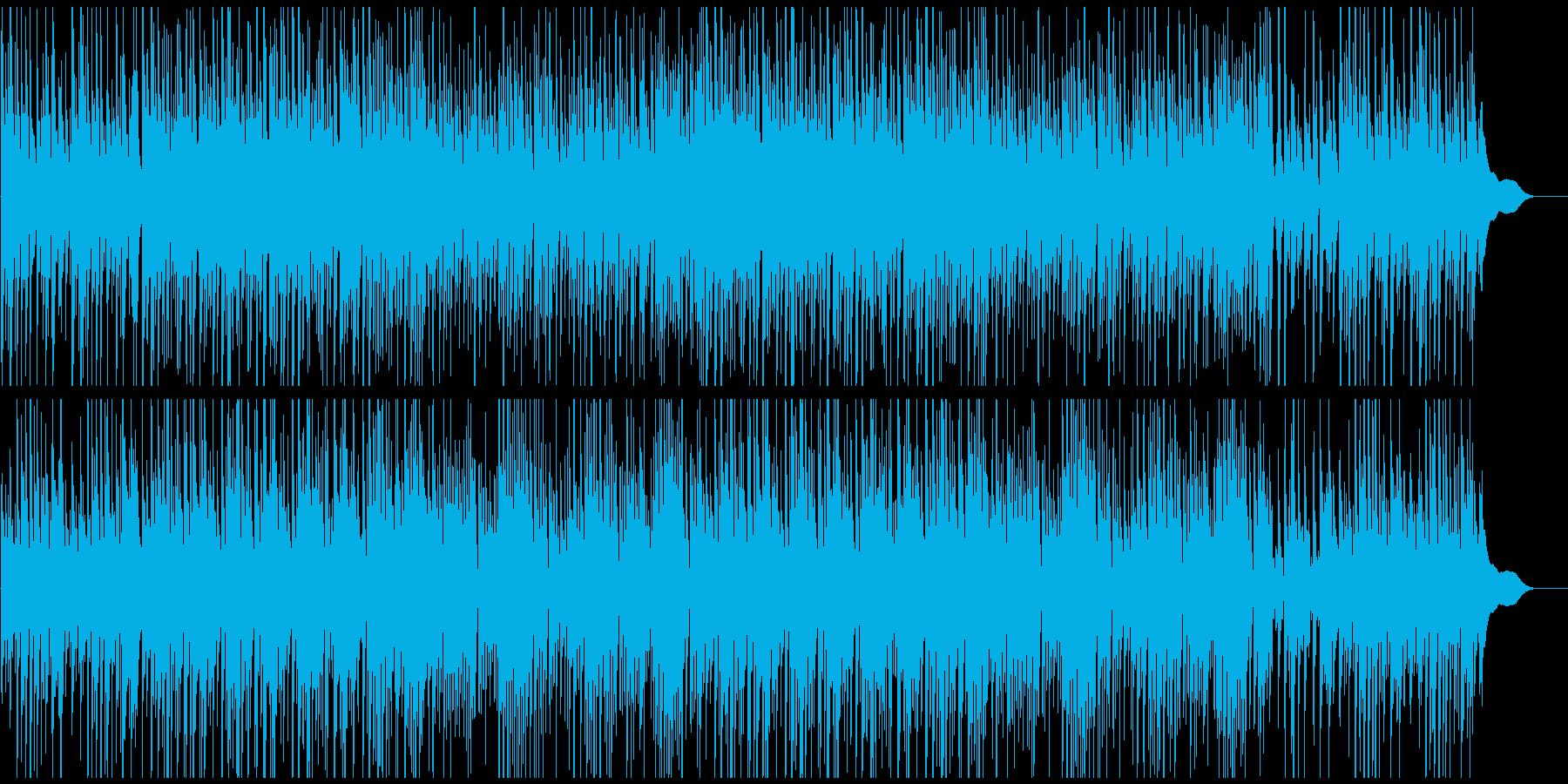 CMや映像にピアノ ゆっくり期待高まるの再生済みの波形